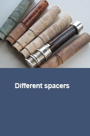 Different spacers